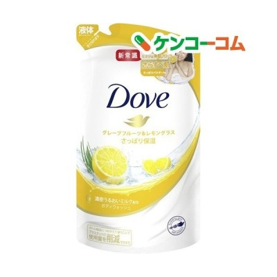 ダヴ ボディウォッシュ グレープフルーツ&レモングラス つめかえ用 ( 360g )/ ダヴ(Dove)