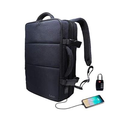 人気商品Evoon リュック メンズ ビジネスリュック バックパック リュックサック 大容量 旅行バック 防水 ビジネス 多機能 撥水加工 USB 盗難防止 人気 15.6イン