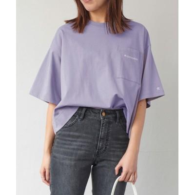 ViS / 【CONVERSE】ViS別注ポケットロゴプリントTシャツ WOMEN トップス > Tシャツ/カットソー