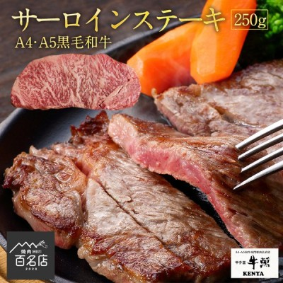 ステーキ×1枚 250g A4 ・A5ランク サーロイン 黒毛和牛 ギフト贈り物 送料無料