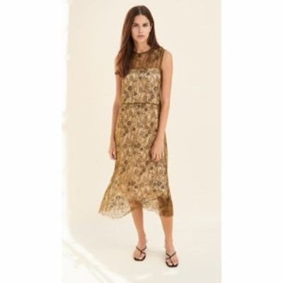 ヴィンス Vince レディース ワンピース ノースリーブ ワンピース・ドレス Sleeveless Lace Dress Botanica