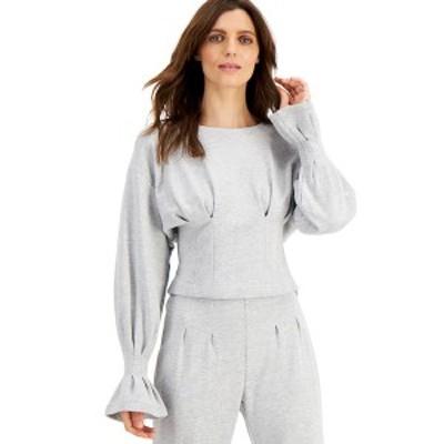アイエヌシーインターナショナルコンセプト レディース パーカー・スウェットシャツ アウター INC Fitted Sweatshirt, Created for Macy'
