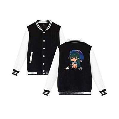 Gacha-Life Baseball Jerseys Jacket Unisex Sport Coat Warm Couple Uniform Ca