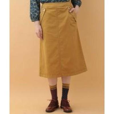 ホコモモラ デ シビラコーデュロイ台形スカート【お取り寄せ商品】