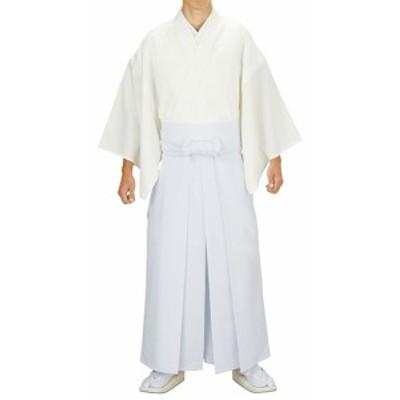 神寺用衣裳【神官用白衣】白 冬用 取り寄せ商品 「日本の踊り」掲載 白衣 神官 僧侶 寺 神社《男性用 メンズ 洗え