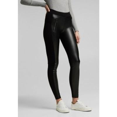 エスプリ レディース レギンス ボトムス Leggings - Trousers - black black