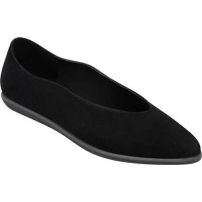 エアロソールズ サンダル シューズ レディース Virona Ballet Flat (Women's) Black Suede