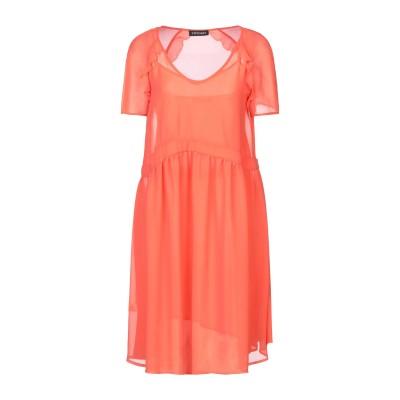 ツインセット シモーナ バルビエリ TWINSET ミニワンピース&ドレス オレンジ 42 ポリエステル 100% ミニワンピース&ドレス