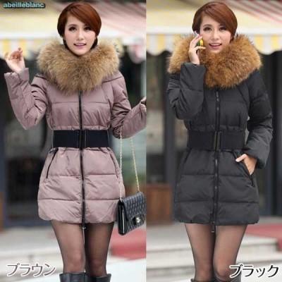 特価 現品限 中綿コート ブラウンパープルS フェイクファーボア 保暖薄手 細魅せ フェミニン ダウン風 コート アウター 大きいサイズ