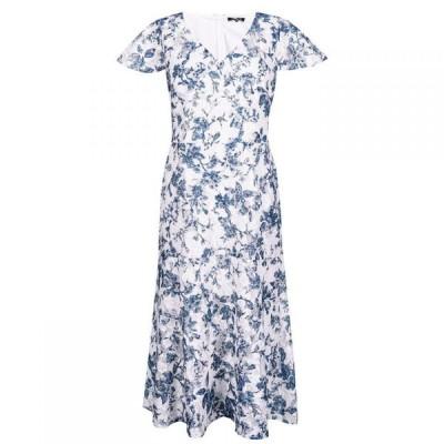 ラルフ ローレン Lauren Ralph Lauren Occasion レディース ワンピース ワンピース・ドレス LRL Naomy SS Day Drs Crm/Blue/Multi