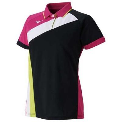 ゲームシャツ(ラケットスポーツ)(レディース) MIZUNO ミズノ テニス ウエア ゲームウエア (62JA9215)
