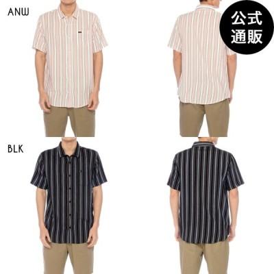 【OUTLET】【送料無料】2020 RVCA ルーカ メンズ TOPPER STRIPE SS ショートスリーブシャツ 全2色 S/M/L rvca