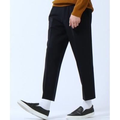 パンツ 【2WAYストレッチ素材】ウールテーパードパンツ