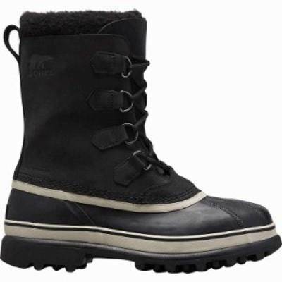 (取寄)ソレル メンズ カリブー ブーツ Sorel Men's Caribou Boot Black/Dark Stone