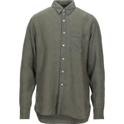 ベルスタッフ BELSTAFF メンズ シャツ トップス linen shirt Military green