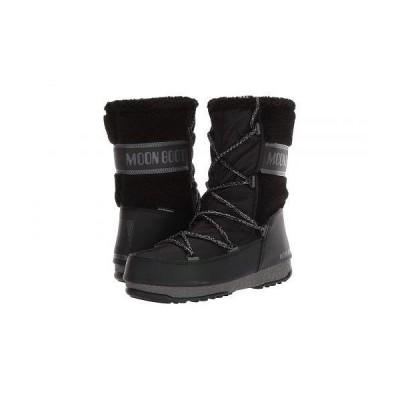 MOON BOOT レディース 女性用 シューズ 靴 ブーツ スノーブーツ Moon Boot(R) Monaco Wool Mid - Black