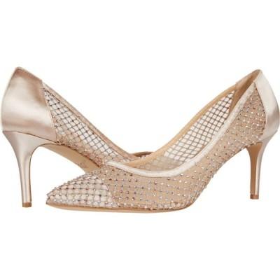 バッジェリー ミシュカ Jewel Badgley Mischka レディース シューズ・靴 Floria Champagne/Nude