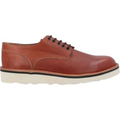フラカップ FRACAP メンズ シューズ・靴 laced shoes Tan