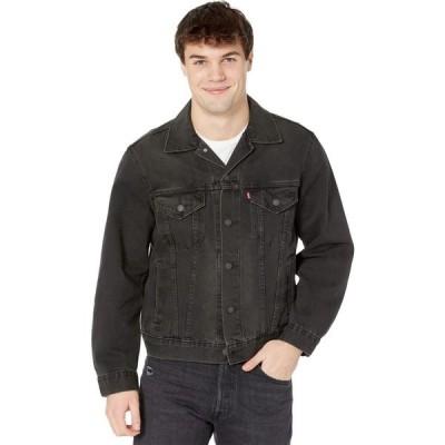 リーバイス Levi's Premium メンズ ジャケット アウター The Virgil Trucker V. Black