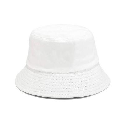 無地 バケットハット コットン100% サンサマービーチキャップ レディース メンズ 大人用 US サイズ: One Size カラー: ホワイト