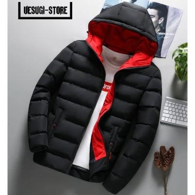 ダウンジャケット メンズ フード付き 軽量 冬物 保温 ブルゾン アウター 通勤 ビジネス アウトドア ブルゾン カジュアル