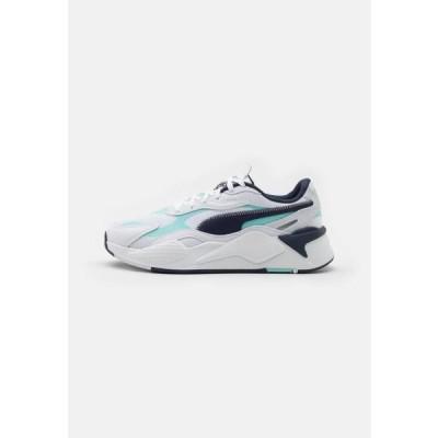 プーマ メンズ 靴 シューズ RS-X HARD DRIVE UNISEX - Trainers - white/blue