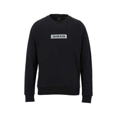 CALVIN KLEIN PERFORMANCE スウェットシャツ ブラック L コットン 100% スウェットシャツ