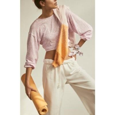フリーピープル レディース Tシャツ トップス Backstage Sweatshirt PURPLE COMBO