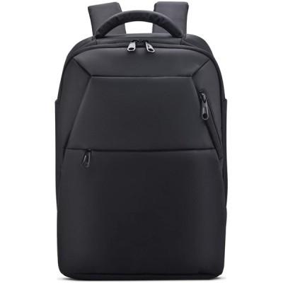 "WILSLAT リュックサック ビジネスバッグ 14""PCバッグ ipad USBポート 撥水加工 軽量 盗難防止 防塵 通勤 通学 旅行 (BLAC"