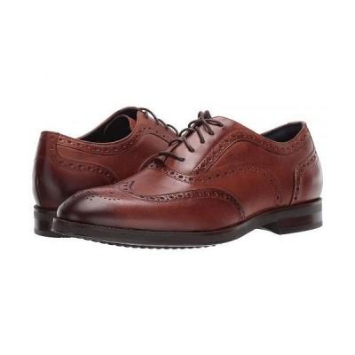 Cole Haan コールハーン メンズ 男性用 シューズ 靴 オックスフォード 紳士靴 通勤靴 Lewis Grand 2.0 Wing Tip Oxford - British Tan