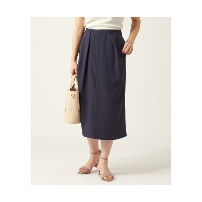 スカート アシメタックラップスカート