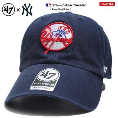フォーティーセブンブランド 47BRAND 帽子 ローキャップ ボールキャップ CAP 男女兼用 Fサイズ ヤンキース 刺繍 シンプル ワンポイント かっこいい おしゃれ MLB