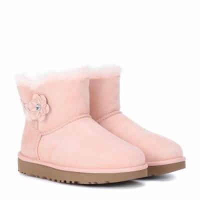 アグ Ugg レディース ブーツ シューズ・靴 Mini Bailey Petal suede boots Light Pink