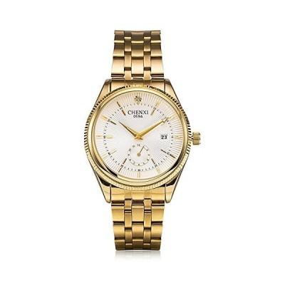 ウォッチメンズ高級ブランドメンズスポ-ツウォッチ防水フルスチ-ルクォ-ツメンズ腕時計 ホワイト並行輸入品