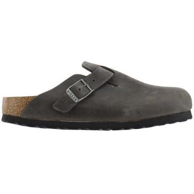 ビルケンシュトック レディース パンプス シューズ Boston Soft Footbed Oiled Leather Clogs Narrow