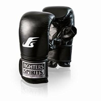 〔ファイターズスピリッツ〕FIGHTERS SPIRITSパンチンググローブDX Lサイズ ブラック