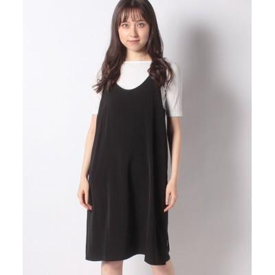 【k3 OUTLET】 Gentle dress レディース ブラック 36 k3 OUTLET