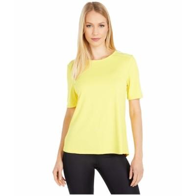 コロンビア シャツ トップス レディース Chill River Short Sleeve Shirt Buttercup/Buttercup Print
