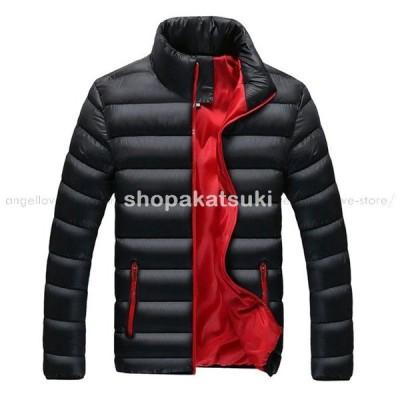 秋冬人気 ジャケット メンズ 軽量 大きいサイズ コート メンズ ショート丈 薄て ダウン綿ジャケット メンズファション 秋冬新作