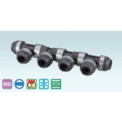 オンダ製作所 AA型 回転ヘッダー 【樹脂製】 WH1-AA07 配管部品