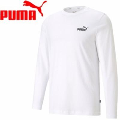 【メール便送料無料】プーマ ESS NO. 1 ロゴ LS Tシャツ 589027-02 メンズ