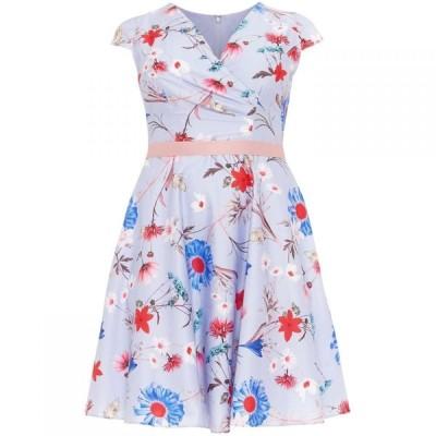 スタジオ8 Studio 8 レディース ワンピース ワンピース・ドレス Millicent Floral Dress Blue