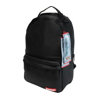 SPRAYGROUND バックパック&ヒップバッグ ブラック ポリウレタン 100% バックパック&ヒップバッグ
