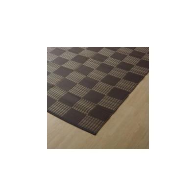 イケヒコ・コーポレーション:PPカーペット ウィード ブラウン 江戸間3畳 2117003