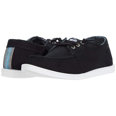クイックシルバー Harbor Dredged メンズ スニーカー 靴 シューズ Black/Black/White