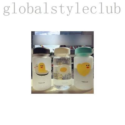 水筒ボトルプラスチックボトル直飲み茶こし付き韓国風オシャレ軽い便利JZAH-TB84
