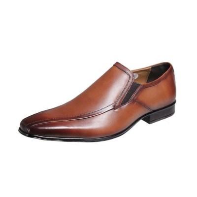 マドラスモデロメンズシューズスワールモカスリッポンMODELLO紳士靴流モカ5007ライトブラウン