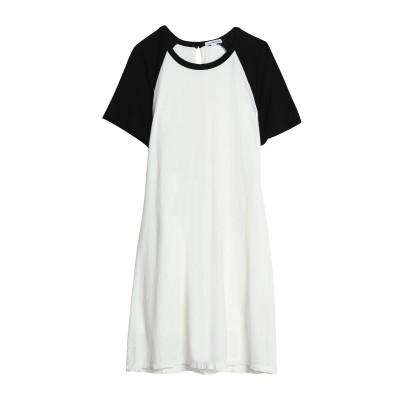ジェームス・パース JAMES PERSE ミニワンピース&ドレス ホワイト 1 コットン 70% / 麻 30% ミニワンピース&ドレス