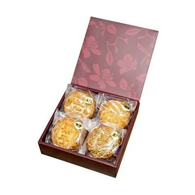 月餅 横浜中華街 老舗 手焼き大月餅 4個ギフトセット お菓子 中華菓子 スイーツ