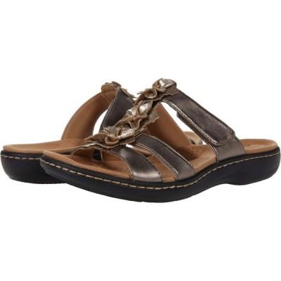 クラークス Clarks レディース サンダル・ミュール シューズ・靴 Laurieann Judi Metallic Synthetic/Leather